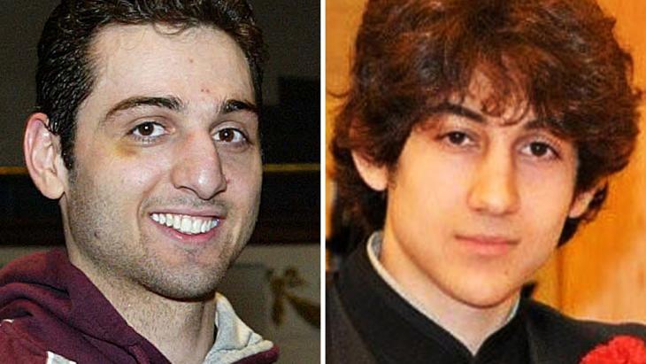 Tamerlan Tsarnaev (left) and Dzhokhar Tsarnaev (photo: picture alliance/AP Photo)