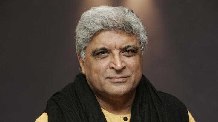 Writer and MP Javed Akhtar (photo: Frank May/dpa)