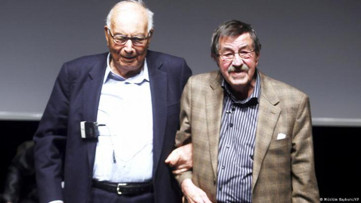 Yasar Kemal (left) and Gunter Grass (photo: Muslum Bayburs/KF)
