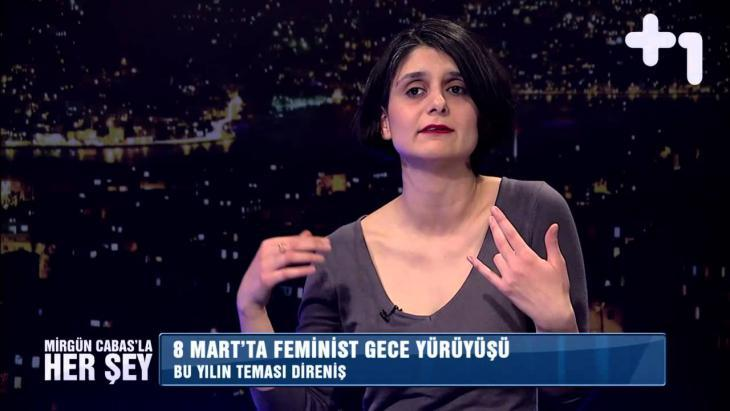 Turkish women's rights activist Selime Buyukgoze (photo: YouTube)