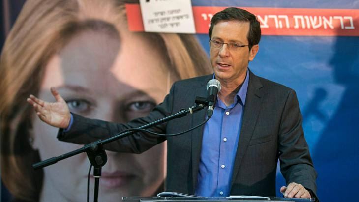 Isaac Herzog, Tel Aviv, 8 March 2015 (photo: Reuters/B. Ratner)