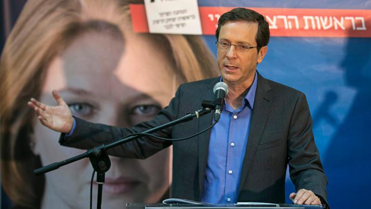 Isaac Herzog, Tel Aviv, 8 March 2015 (photo: Reuters/B. Ratner)