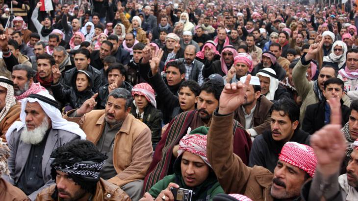 Sunnis in Falluja (photo: AP/picture-alliance)