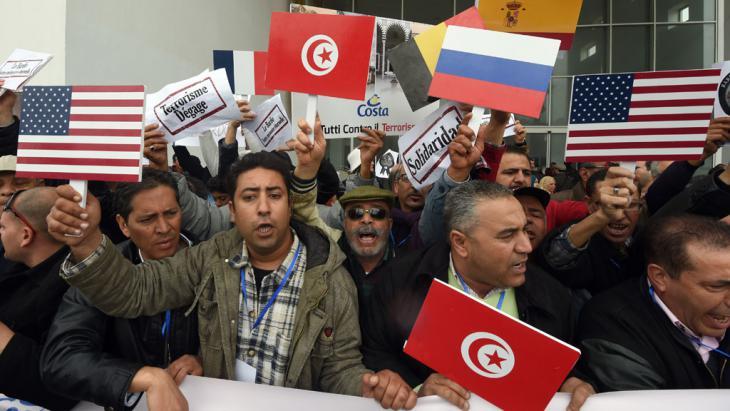 Wiedereröffnung des Bardo National Museum in Tunis. Foto: AFP/Getty Images/F. Belaid