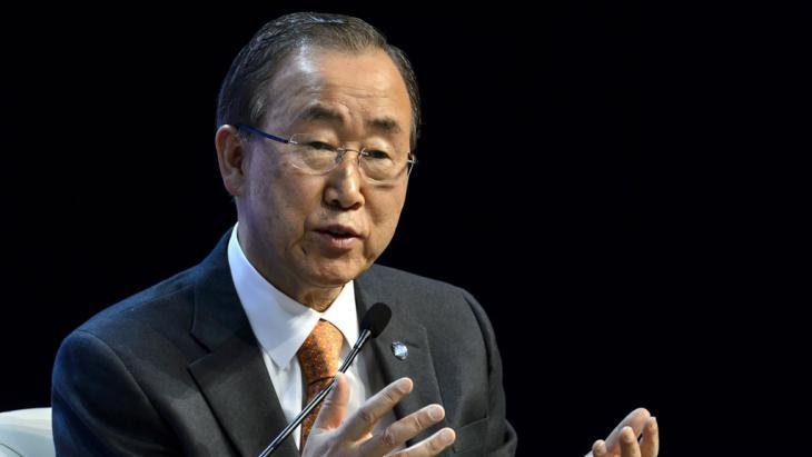 UN Secretary General Ban Ki Moon (photo: AFP/Getty Images/F. Coffrini)