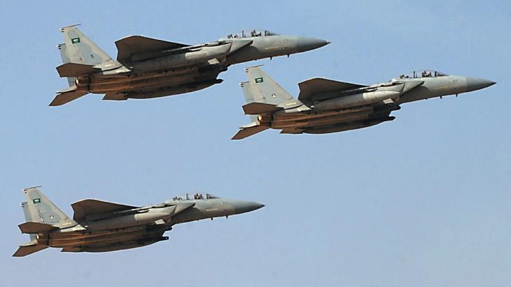 Saudi fighter jets (photo: AFP/Getty Images/F. Nureldine)