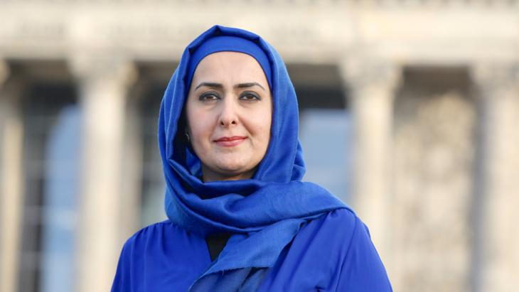Muslim teacher Fereshta Ludin (photo: picture-alliance/dpa/D. Gerlach)