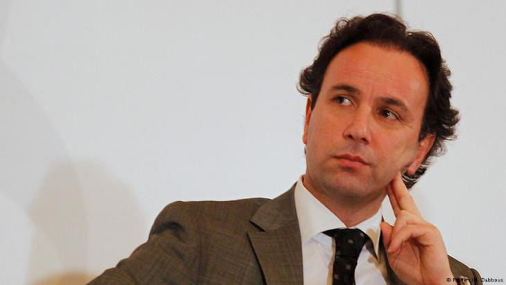 Khaled Khoja, president of the National Coalition for Syrian Revolutionary and Opposition Forces (photo: Reuters)