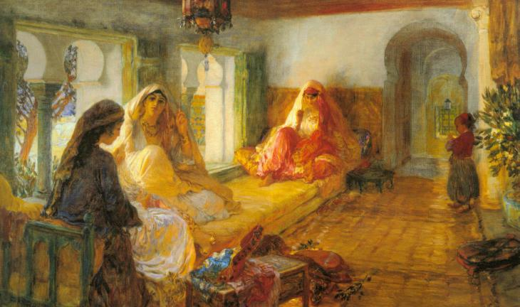 """In The Seraglio"" by Frederick Arthur Bridgman (photo: Wikipedia)"