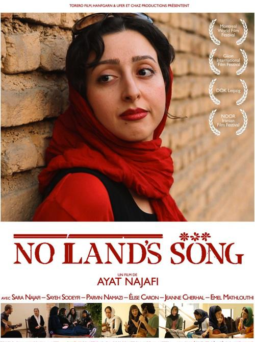 """Poster for the film """"No Land's Song"""""""