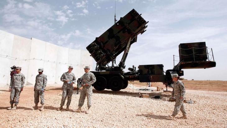 A patriot surface-to-air missile system in Gaziantep, Turkey (photo: Reuters/Osman Orsal)