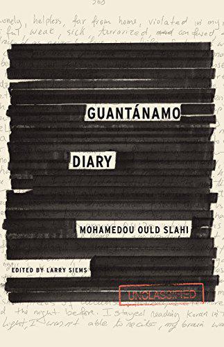 "Cover of Mohamedou Ould Slahi's ""Guantanamo diary"" (source: Canongate Books)"