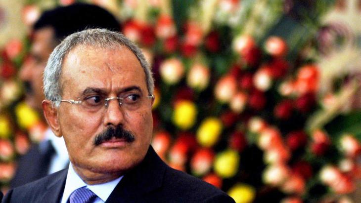 Yemen's former president Ali Abdullah Saleh (photo: picture-alliance/epa/Y. Arhab)