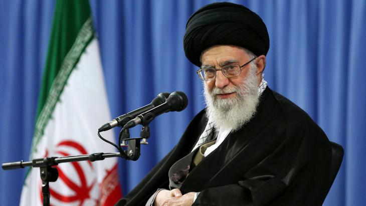 Ayatollah Ali Khamenei (photo: picture-alliance/dpa/Official Supreme Leader Website)