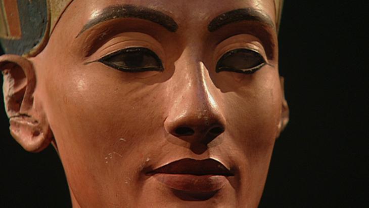 The bust of Nefertiti (photo: DW)