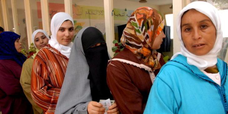 Women in Morocco (photo: dpa)