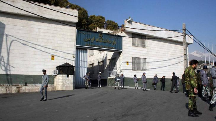 Evin prison in Tehran, Iran (photo: FF)