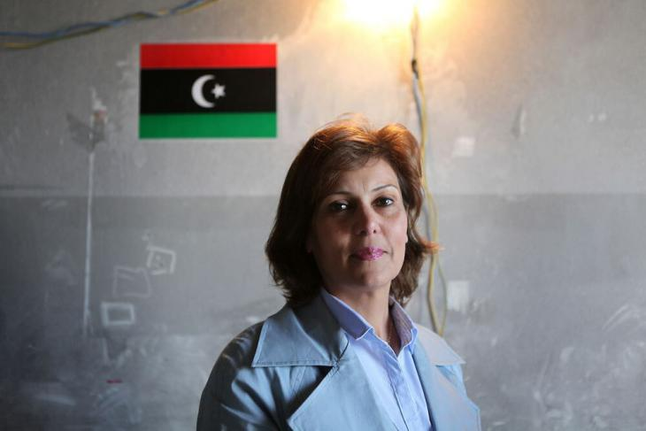 Salwa Bugaighis (photo: The Trials of Spring media room)
