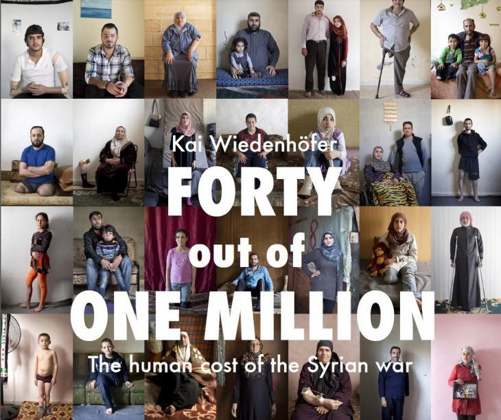 "Cover of ""Forty out of one million"" by Kai Wiedenhofer (source: by Kai Wiedenhofer)"