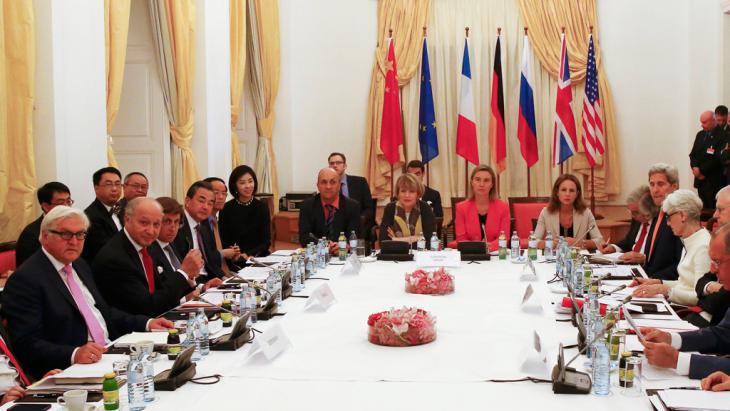 Iran and P5 1 negotiations, Palais Coburg, Vienna (photo: Reuters/L. Foeger)