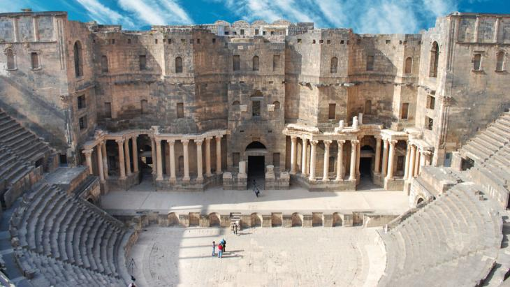 The amphitheatre in Bosra, a World Heritage Site (photo: fotolia/waj)