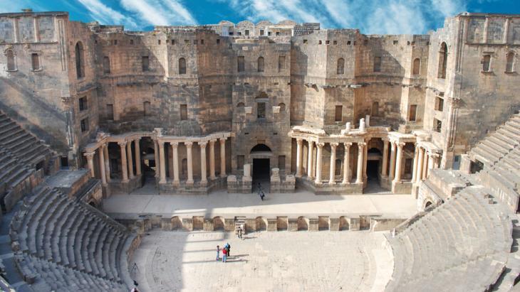 The amphitheatre in Bosra, a World Heritage Site (photo: fotolia/waj)