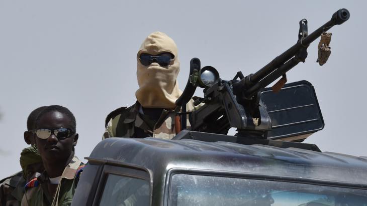 Nigerian soldiers (photo: Getty Images/AFP/I. Sanogo)