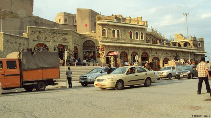A street in Irbil, Iraqi Kurdistan (photo: Birgit Svensson)