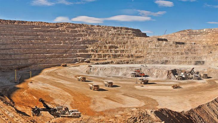 A gold mine in Belochistan, Pakistan (photo: DW/G. Kakar)