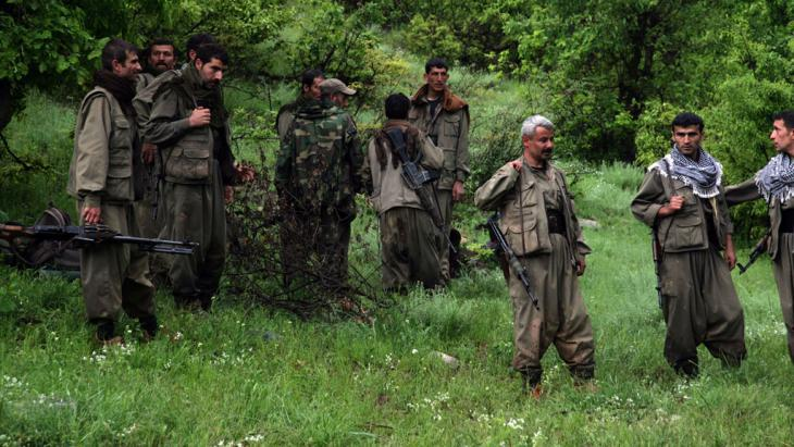 PKK fighters (photo: SAFIN HAMED/AFP/Getty Images)