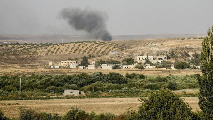 The Turkish–Syrian border region (photo: picture-alliance/AA)