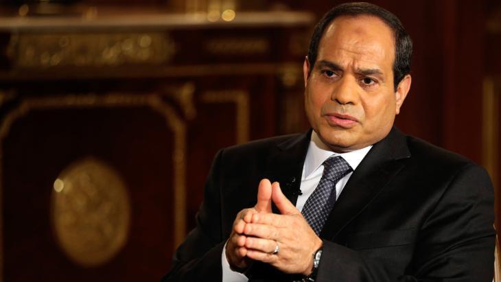 Egypt's president Abdul Fattah al-Sisi (photo: Reuters)