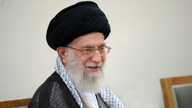 Ali Khamenei, supreme leader of Iran (photo: Leader.ir)