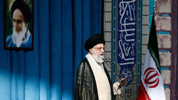 Ayatollah Ali Khamenei in Tehran (photo: Khamenei.ir)