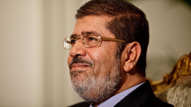 Former Egyptian President Mohammed Morsi, Cairo, 8 December 2012 (photo: Maya Alleruzzo/AP/dapd)