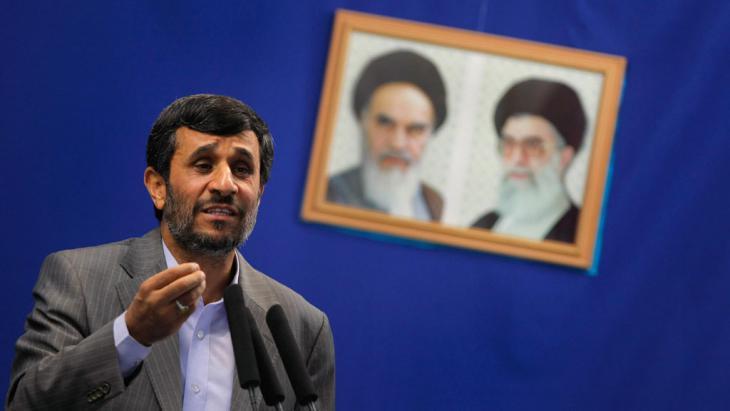Mahmoud Ahmadinejad (photo: Getty Images/AFP/B. Mehri)