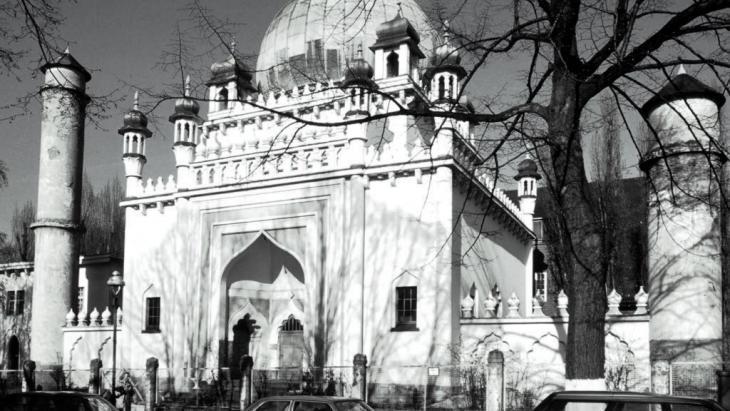 The Ahmadiya Mosque in Berlin-Wilmersdorf was built between 1924 and 1927 (photo: picture-alliance/akg-images/Jost Schilgen)