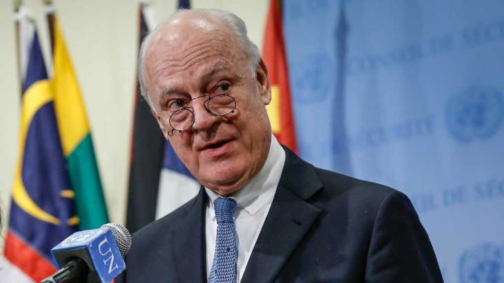 UN special envoy Staffan de Mistura (photo: picture-alliance/dpa)