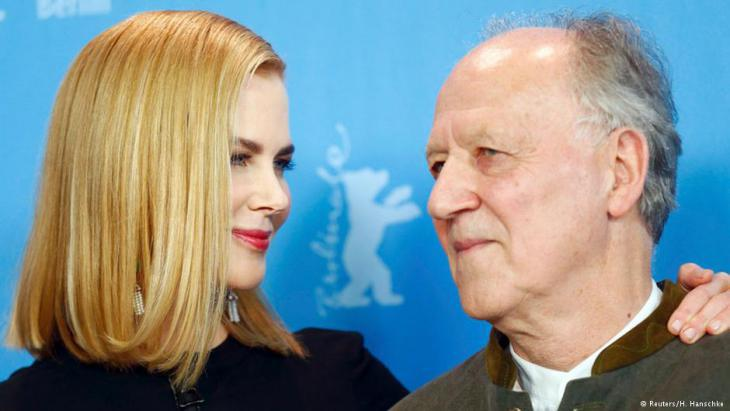 Werner Herzog and Nicole Kidman at the Berlinale premiere (photo: Reuters)