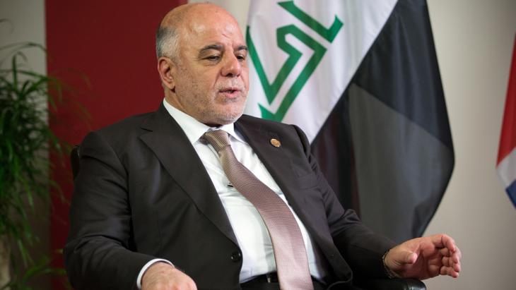 Iraq′s prime minister, Haider al-Abadi (photo: C. Court/Getty Images)