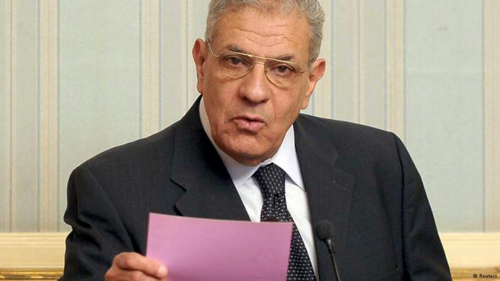 Ibrahim Mahlab, formerly prime minister of Egypt (photo: Reuters)