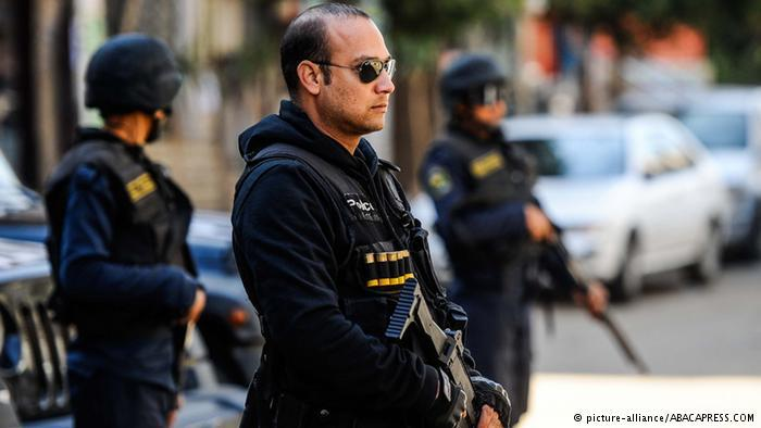 Egyptian security forces (photo: picture-alliance/ABACAPRESS)