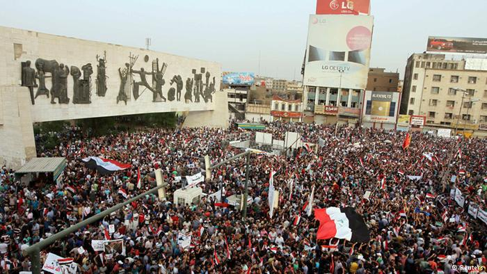 Popular protest in Iraq (photo: Reuters)