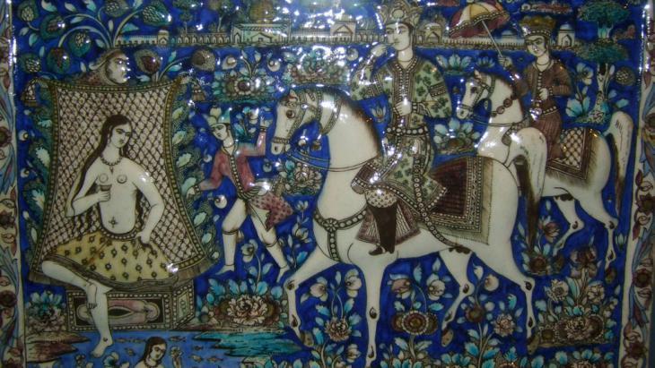 Exhibition of Islamic art in Munich (photo: Deutsche Welle/Salah Soliman)