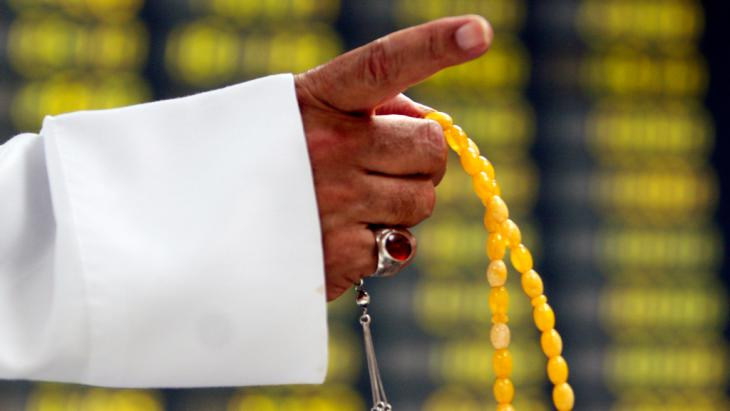 Islamic prayer beads (photo: ddp images/AP Photo/Hasan Jamali)