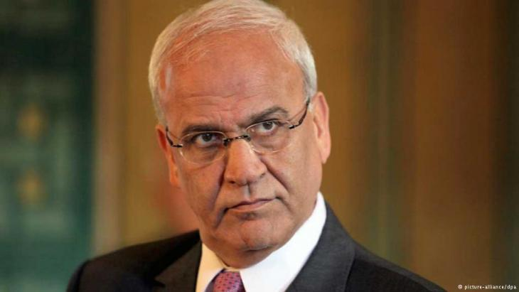 Saeb Erekat (photo: dpa/picture-alliance)