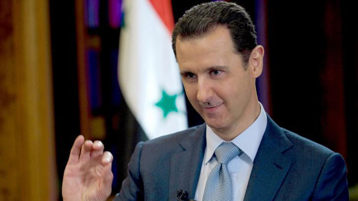 Syria′s president, Bashar al-Assad (photo: picture-alliance/dpa/Sana Handout)