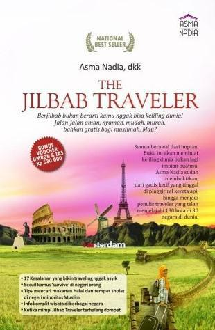 Cover of Asma Nadia's ″Jilbab Traveler″