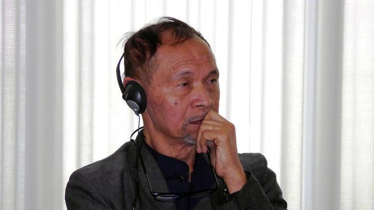 Author and publicist Goenawan Mohamad (photo: DW/Hendra Pasuhuk