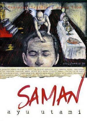 "Cover of ""Saman"" by Indonesian author Ayu Utami"